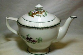 Royal Worcester Canton Tea Pot Old Mark Circa 1933 - $180.17