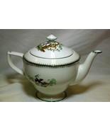 Royal Worcester Canton Tea Pot Old Mark Circa 1933 - $198.19