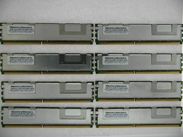 Server RAM 32GB 8x 4GB PC2-5300F FB DIMM Fully Buffered DDR2 667 ECC REG... - $36.63