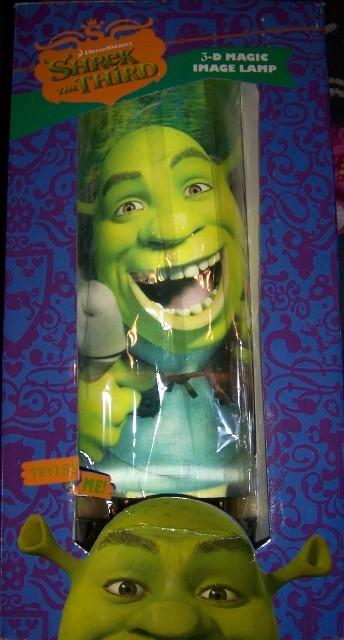 Shrek & Donkey 3D Magic Image Lamp NEW 19 Inches