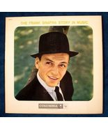 THE FRANK SINATRA STORY IN MUSIC   1958 Double LP - $12.50