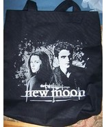 Twilight New Moon Edward Bella Tote NEW Pattison Black  - $18.00