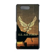 Air Force Sony Z4 Compact, Z4 mini case Customized premium plastic phone case, d - $11.87
