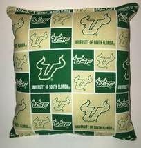 South Florida University Pillow Football Pillow USF Pillow NCAA HANDMADE In USA image 1