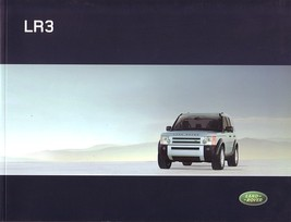 2006 Land Rover LR3 sales brochure catalog US 06 Discovery - $10.00