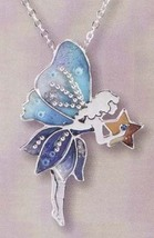 Blue Fairy Pendant - $18.00