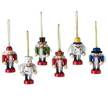 Midwest CBK Mini Nutcracker Ornaments, 6-piece set - 128235 - $38.09