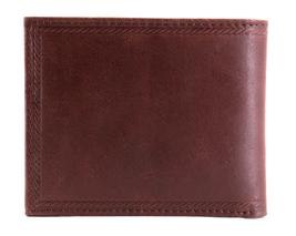 Nautica Men's Genuine Vintage Leather Credit Card ID Billfold Passcase Wallet image 11