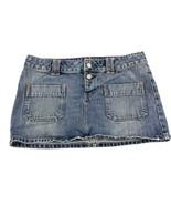 American Eagle Women's Blue Jean Skirt 6 - $19.79