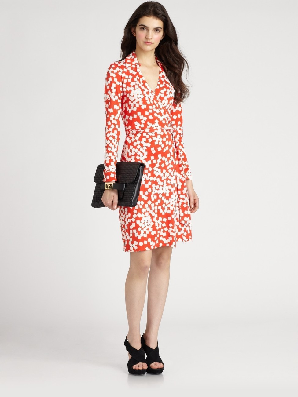 dvf wrap dress #9