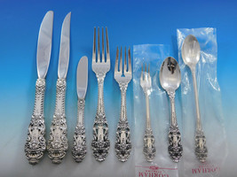Crown Baroque by Gorham Sterling Silver Flatware Set 12 Service 107pc Di... - $10,500.00