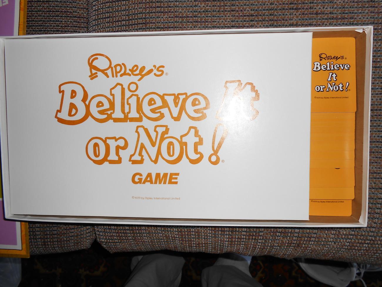 1977 Ripleys Believe it or Not Game Whitman