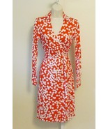 DIANE von FURSTENBERG New Jeanne Wrap Dress Confetti print US 10 - UK 14 - $249.99