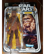"NIP Star Wars 40th Anniversary Series CHEWBACCA 6"" Action Figure!  - $34.24"