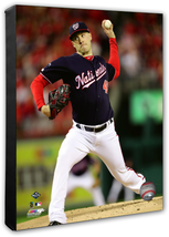 Patrick Corbin Nationals Game 4 of 2019 NLCS- 16x20 Photo on Stretched Canvas - $89.99
