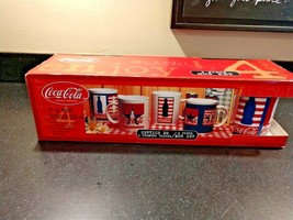 Vintage Coca-Cola Mugs Set of Four (4) - New in Box 11oz - $29.95
