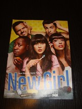 New Girl TV drama 1 magazine clipping AD mini poster Jess Zooey Deschanel - $11.30