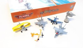 PLANES GAME + 6 FIGURES + PLAYMAT | DISNEY | COMPLETE | GOOD CONDITION |... - $12.31