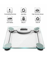Durable up to 396 lbs Personal Bathroom Glass Digital Weight Scale - $21.84