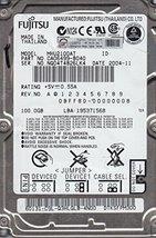 MHU2100AT, PN CA06499-B040, Fujitsu 100GB IDE 2.5 Hard Drive