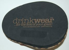 Carrie And Company Leopard Print Sandal 2 Coaster Set Drink Wear Attachable image 3