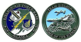 EIELSON AIR FORCE BASE ALASKA HOME OF THE ICEMAN CHALLENGE COIN - $16.24