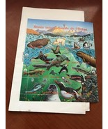United Nations Oceans life m/s 1998 mnh  stamps - $6.00