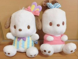 Pochacco BIG Plush Doll Rabbit Mimi & Mimi Musubi Sanrio Limited Japan - $66.49
