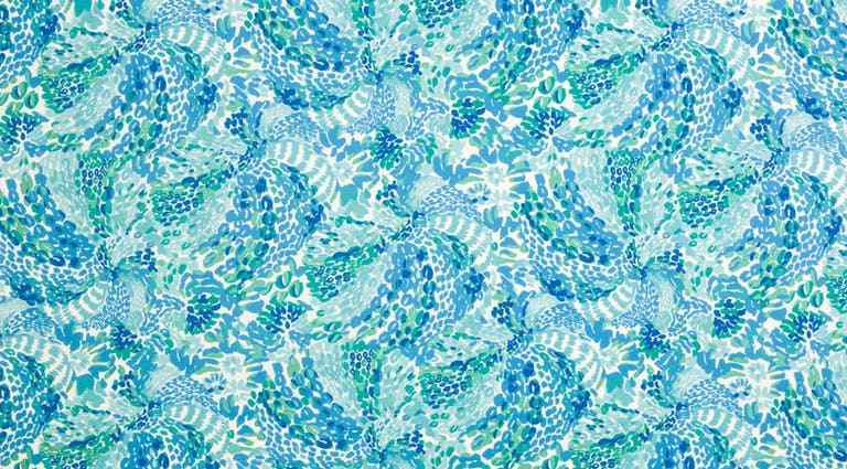 5.5 yds Lee Jofa Upholstery Fabric Searchin Urchin Shorely Blue 2016102.513 BD