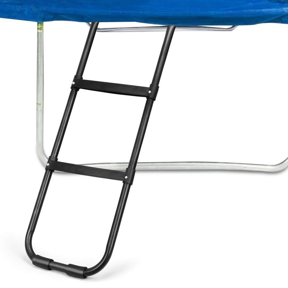 Trampoline Parts Center Coupon Code: Gardenature Trampoline Ladder-2 Steps Wide-Step Ladder