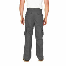 Men's Tactical Combat Military Army Work Twill Cargo Pants Trousers image 5