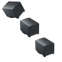 THREE 3X BP-820 Batteries 2000mah for Canon Legria& Vixia HF G30 XA20 XA... - $40.30
