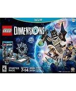 LEGO Dimension 71174 Starter Pack Nintendo Wii U Batman [New] - $33.98