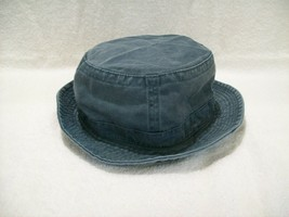 NEW DARK GREEN WASHED COTTON FISHING BUCKET HAT CAP SIZE XL NISSUN CAP - $6.29