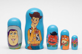 "Toy Story nesting doll matryoshka 5pc babushka, 6.8"" - $54.90"