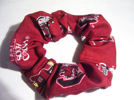 Carolina Game Cocks Ponytail Holder Wrap Hair Scrunchie - $6.99