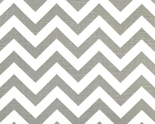 "CHEVRON TABLECLOTH 54 X 84"" grey and white table cloth rectangle Gray zigzag che"