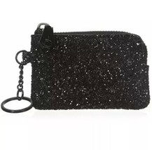 REBECCA MINKOFF BLACK LITTLE LOTTIE COIN/KEY PURSE NWT - $36.99