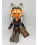 Disney Parks Star Wars Galaxy's Edge Ahsoka Tano Plush New with Tag - $30.17