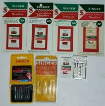 Lot Of Singer Sewing Machine Needles 33 Total Assorted Needles West Germany - $29.69
