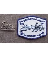 8th New Brunswick Jamboree Boy Scouts Patch & Pin 1991 - $20.95