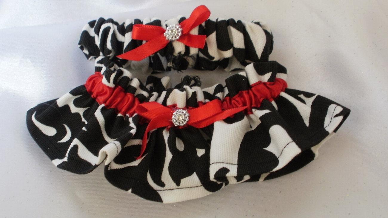 Damask Ring Bearer Pillow and Flower Girl Basket  and Garter Set Amsterdam Black