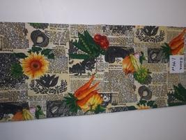 Gardening Print, Hi Fashion Fabrics, 1.44 Yd (S2002) - $2.88
