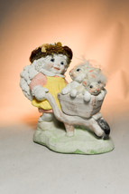 Dreamsicles: Wheelbarrow of Bunnies - DC183 - Springtime Frolic - $28.70