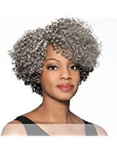 Foxy Silver Marjorie - Synthetic Lace Part Wig in 3T51