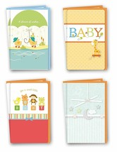 Assorted Baby Cards Bulk Card Set of 8 Cards with Envelopes. Large Handm... - $13.69