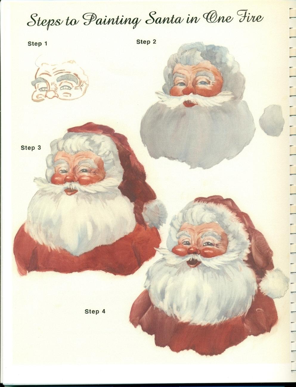 """RARE """"Holiday China Painting"""" Book Barbara Duncan Christmas"""