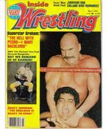 Inside Wrestling Mar 1983 Superstar Graham Terry Funk Rocky Johnson Junk... - $6.95