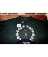 Bobby Jones Small mens classic golf olive 100% Merino wool sweater - $64.30