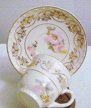 Crooksville China Co  Demitasse  Cup & Saucer  - $14.00